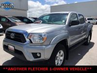 Silver Toyota Tacoma ****ANOTHER FLETCHER 1-OWNER
