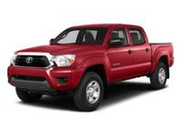 FUEL EFFICIENT 21 MPG Hwy/16 MPG City! Tacoma trim,