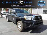 This Toyota Tacoma is Certified Preowned! CARFAX