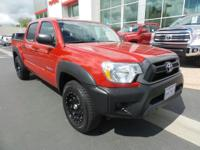 LOW MILES, This 2015 Toyota Tacoma 2WD Double Cab I4 AT