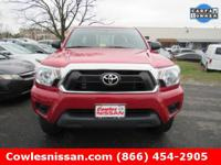 4WD. Extended Cab! Red and Ready! Ask about our Special