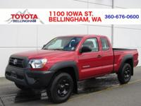 PURCHASED NEW AND SERVICED AT TOYOTA OF BELLINGHAM *