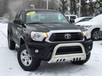 2015 Toyota Tacoma Base Black CARFAX One-Owner. Clean