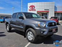 Certified. 2015 Toyota Tacoma V6 Magnetic Gray Metallic