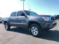 Recent Arrival! 2015 Toyota Tacoma PreRunner GrayHere