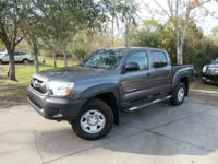 This 2015 Toyota Tacoma 4dr 2WD Double Cab I4 AT