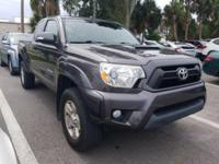 CARFAX One-Owner. Clean CARFAX. 2015 Toyota Tacoma