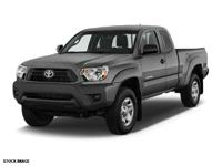For a smoother ride, opt for this 2015 Toyota Tacoma