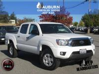 ONE OWNER, BLUETOOTH! This 2015 Toyota Tacoma Double