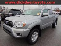 Options:  2015 Toyota Tacoma Prerunner|Silver|**Alloy