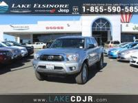 This outstanding example of a 2015 Toyota Tacoma