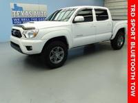 PRERUNNER-TRD SPORT-DOUBLE CAB-BLUETOOTH-TOW-ONE