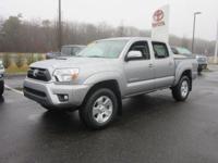 This Certified 2015 Toyota Tacoma has been treated with