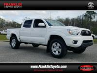 Tacoma PreRunner V6, Toyota Certified, 4D Double Cab,
