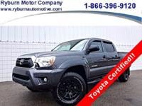 *Don't let this ONE OWNER Toyota Tacoma pass you by!