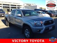 2015 Toyota Tacoma PreRunner in Silver starred featured
