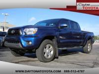 2015 Toyota Tacoma Double Cab PreRunner Long Bed TRD