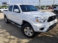 Super White 2015 Toyota Tacoma TRD Pro V6 4WD 5-Speed
