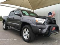 Take command of the road in the 2015 Toyota Tacoma!
