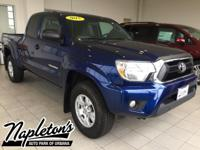 Recent Arrival! 2015 Toyota Tacoma in Blue, AUX
