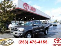 2015 Toyota Tacoma 4WD. Gray Recent Arrival! Clean