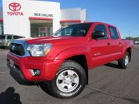 TRD Off-Road package!! This 2015 Toyota Tacoma comes