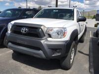 Look at this 2015 Toyota Tacoma Base. Its Automatic