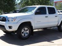New Price! 4WD. CARFAX One-Owner. Clean CARFAX. White