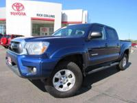 TRD Off-Road package and four wheel drive!! This 2015