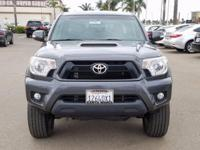 Options:  2015 Toyota Tacoma|Gray|**Carfax One