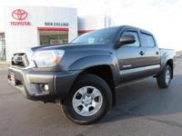 This 2015 Toyota Tacoma comes equipped with towing