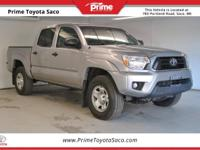 CARFAX One-Owner. Toyota Certified!, 2015 Toyota Tacoma