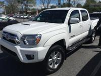 Super White 2015 Toyota Tacoma V6 4WD 5-Speed Automatic