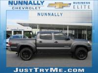 Clean CARFAX. 2015 Toyota Tacoma V6 4WD 5-Speed