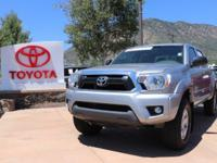 4WD. CARFAX One-Owner. 2015 Toyota Tacoma V6 4D Double