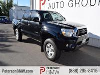 Built for action, our 2015 Toyota Tacoma Double Cab V6