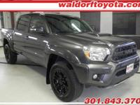 Like New! A one-owner 2015 Tacoma Double Cab 4 Wheel