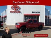 Recent Arrival! 2015 Toyota Tacoma Red 4.0L V6 EFI DOHC