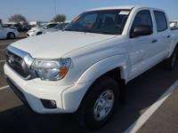 Recent Arrival! 2015 Toyota Tacoma SR5CARFAX One-Owner.
