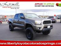 CARFAX 1-Owner. Tacoma trim, PYRITE MICA exterior and