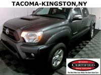 4D Double Cab, 5-Speed Automatic, Magnetic Gray
