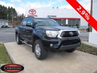 ONE OWNER!! 2015 TOYOTA TACOMA!! 4WD, DOUBLE CAB, 4.0L