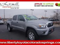 CARFAX 1-Owner, LOW MILES - 20,702! Tacoma trim, SILVER