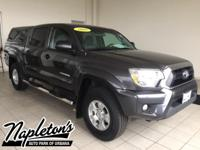 Recent Arrival! Certified. 2015 Toyota Tacoma in Black,
