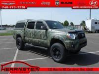 4WD. Tacoma Toyota 4.0L V6 EFI DOHC 24V 15/19mpg V6
