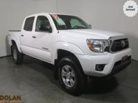 Climb inside the 2015 Toyota Tacoma! You'll appreciate