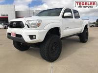 White 2015 Toyota Tacoma V6 4WD 5-Speed Automatic 4.0L