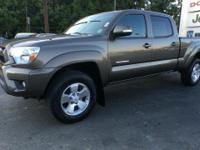 Take command of the road in the 2015 Toyota Tacoma! A