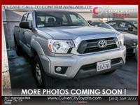 Options:  2015 Toyota Tacoma Base|Silver|Toyota