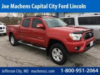 4WD. Long Bed! Crew Cab! 2015 Toyota Tacoma 4WD. If you
